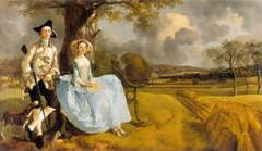 Mr and Mrs Andrews de Thomas Gainsborough